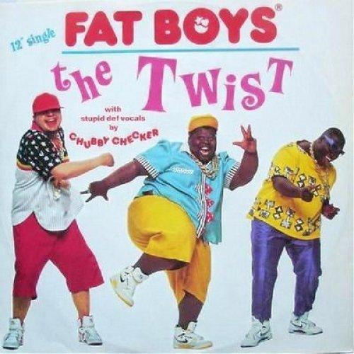 Bild 1: Fat Boys, Twist (1988, & Chubby Checker)