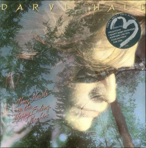 Bild 1: Daryl Hall, Three hearts in the happy ending machine (1986)