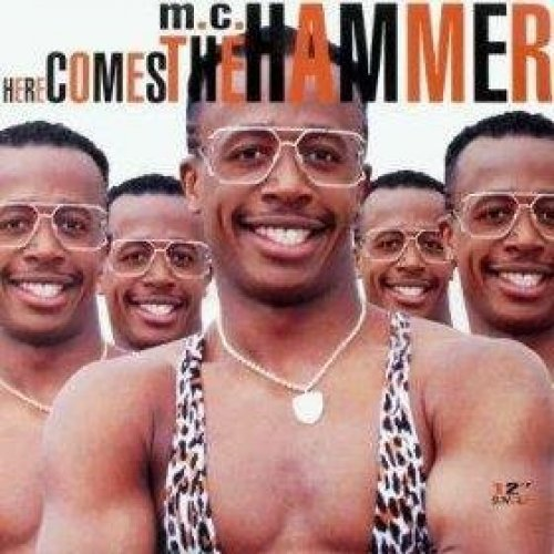 Bild 1: MC Hammer, Here comes the hammer