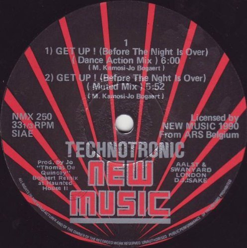 Bild 1: Technotronic, Get up (1990)