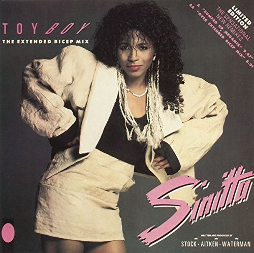 Bild 1: Sinitta, Toy boy (1987)