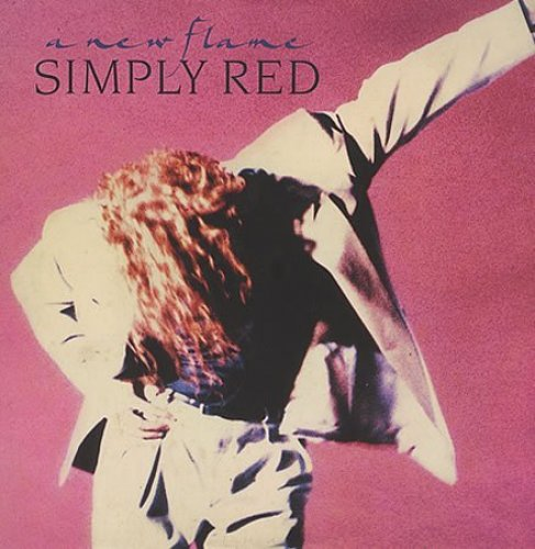 Bild 1: Simply Red, A new flame (1989)