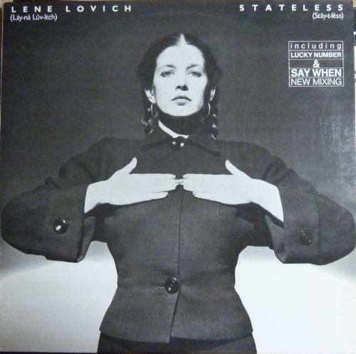 Bild 1: Lene Lovich, Stateless (1978)