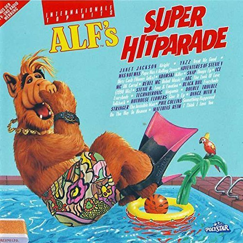 Image 1: Alf's Super Hitparade (1990), Technotronic, Snap, Adamski, Beats International, Westbam, 49ers, Yazz..
