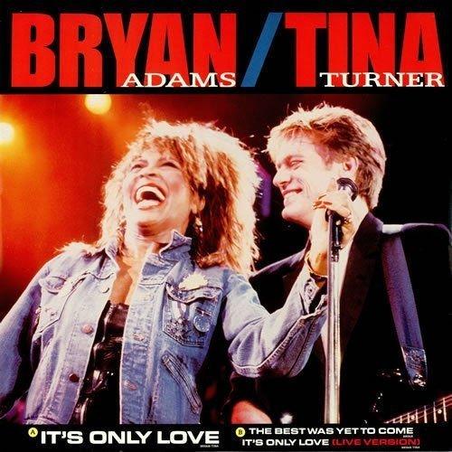 Bild 1: Bryan Adams, It's only love (1985, & Tina Turner)