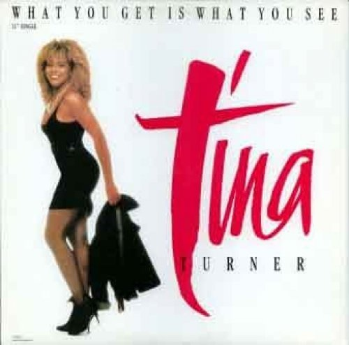 Bild 1: Tina Turner, What you get is what you see (1986)