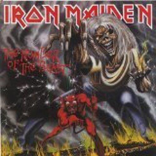 Bild 1: Iron Maiden, Number of the beast (1982)