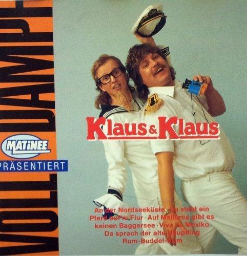 Bild 1: Klaus & Klaus, Volldampf (compilation, 12 tracks, 1983-87)