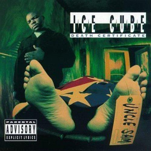 Bild 1: Ice Cube, Death certificate (1991)