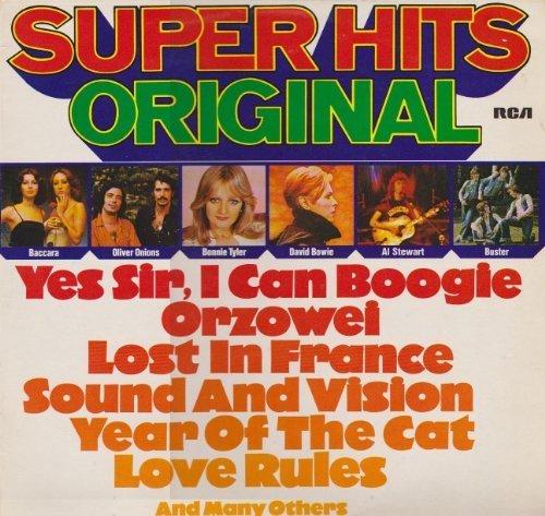 Bild 1: Super-Hits Original (1977), Baccara, Bonnie Tyler, Oliver Onions, David Bowie, Al Stewart..