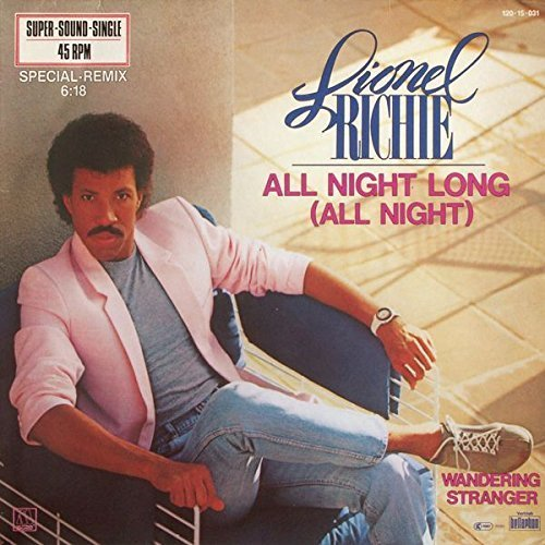 Bild 1: Lionel Richie, All night long (Special-Remix, 6:18min., 1983)