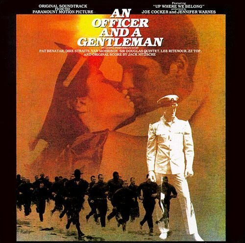 Bild 1: An Officer and a Gentlemen (1982), Joe Cocker and Jennifer Warnes, ZZ Top, Pat Benatar..