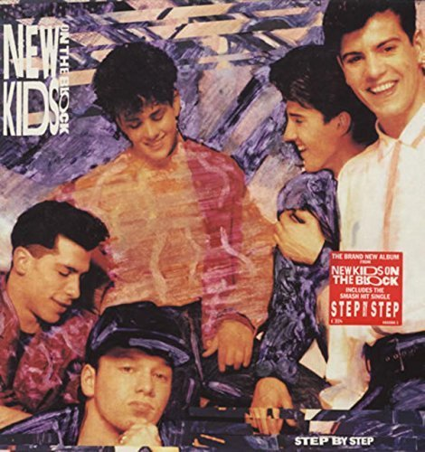 Bild 1: New Kids on the Block, Step by step (1990)