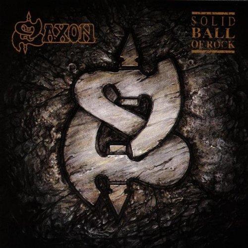 Bild 1: Saxon, Solid ball of rock (1990)