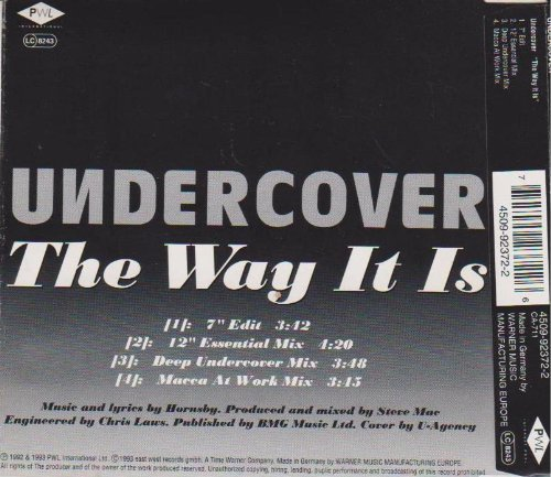 Bild 2: Undercover, Way it is (1993)