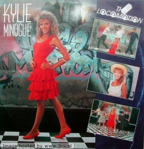 Bild 1: Kylie Minogue, Locomotion-Remix EP (1988)