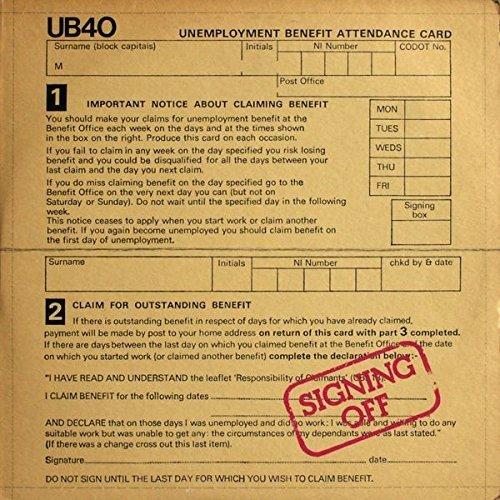 Bild 1: UB 40, Signing off (1980)