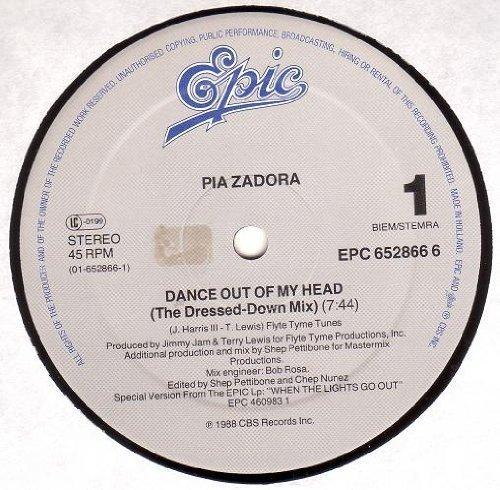 Bild 1: Pia Zadora, Dance out of my head (Ben Liebrand, 1988)