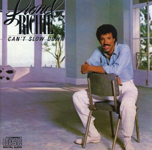 Bild 1: Lionel Richie, Can't slow down (1983)