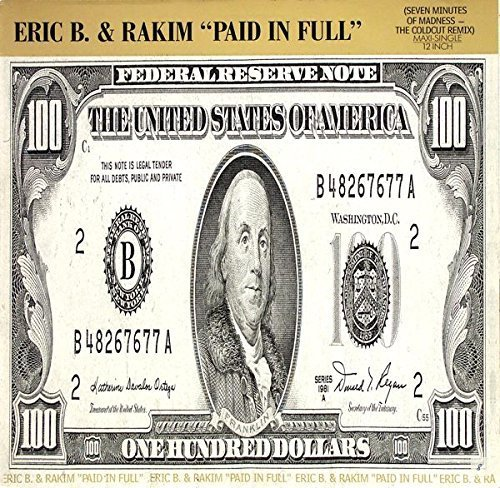 Bild 1: Eric B. & Rakim, Paid in full (Coldcut Remix, 7:09min., 1987)