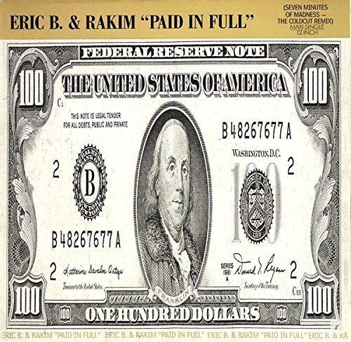 Bild 1: Eric B. & Rakim, Paid in full (Coldcut Remix, 7:09min., 1987)
