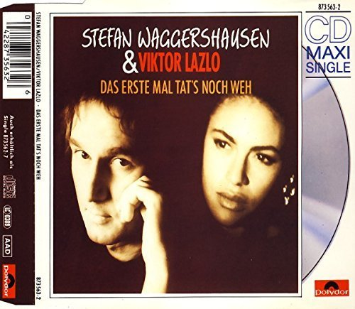 Bild 1: Stefan Waggershausen, Das erste Mal tat's noch weh (1990, & Viktor Lazlo)