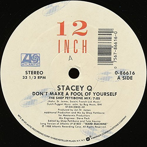 Bild 1: Stacey Q, Don't make a fool of yourself (1988)