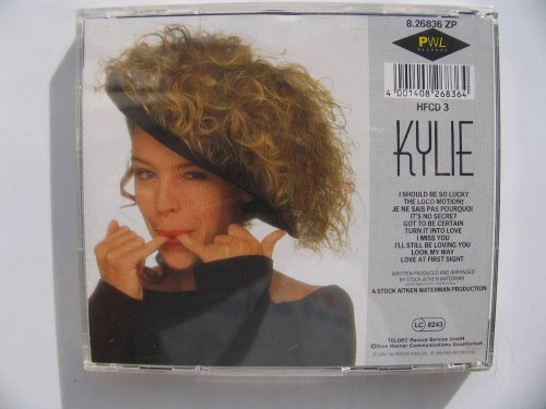 Bild 1: Kylie Minogue, Kylie (1988)