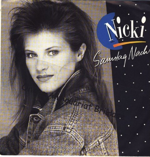 Bild 1: Nicki, Samstag Nacht (1988)