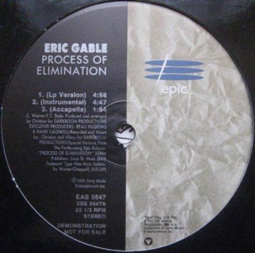 Bild 1: Eric Gable, Process of elimination (1993)