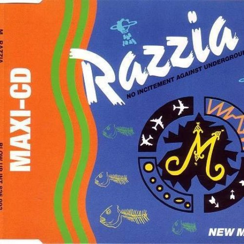 Bild 1: M, Razzia (New Mixes, 1993)