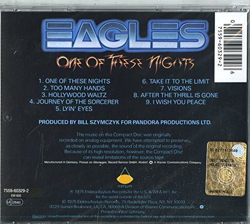 Bild 2: Eagles, One of these nights (1975)