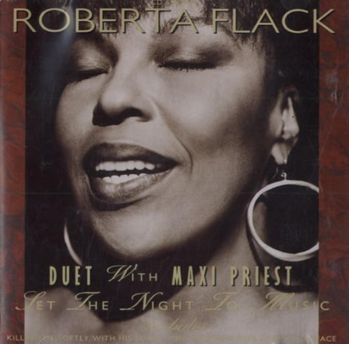 Bild 1: Roberta Flack, Set the night to music (4 tracks, 1991, & Maxi Priest)