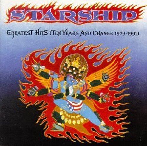 Bild 1: Starship, Greatest hits-Ten years and change 1979-1991
