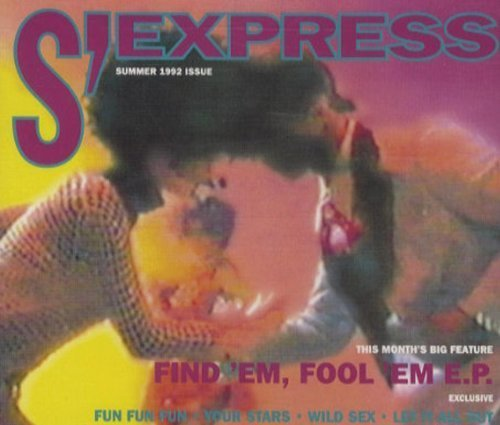 Bild 1: S'Express, Find'em, fool 'em EP (Summer 1992 Issue)