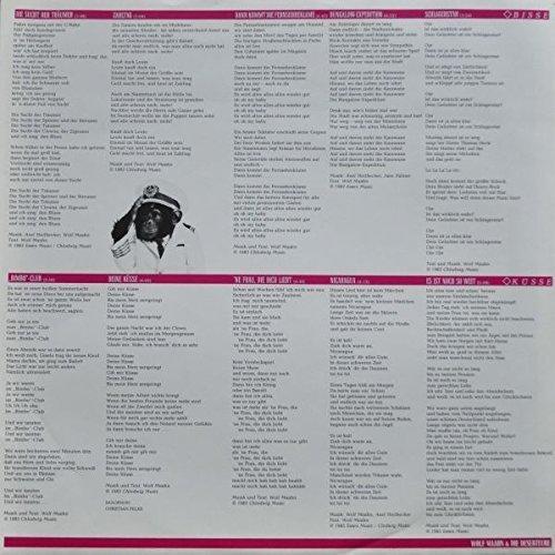 Bild 2: Wolf Maahn, Bisse und Küsse (1983, & Die Deserteure)