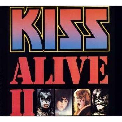 Bild 1: Kiss, Alive II (1977)