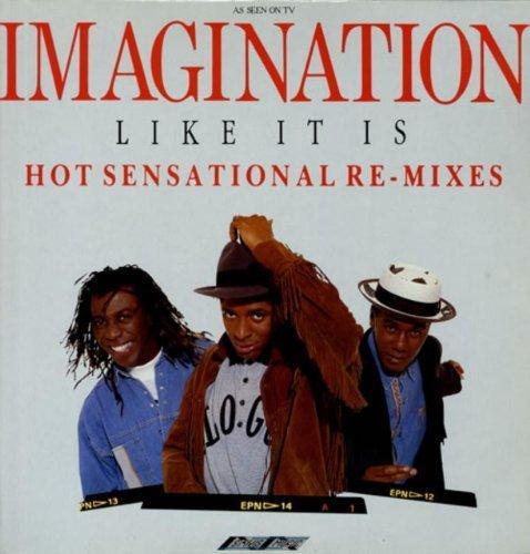 Bild 1: Imagination, Like it is-Hot sensational remixes