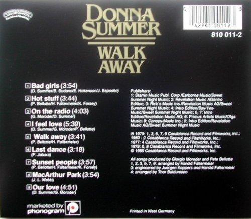 Bild 2: Donna Summer, Walk away-The best of 1977-1980