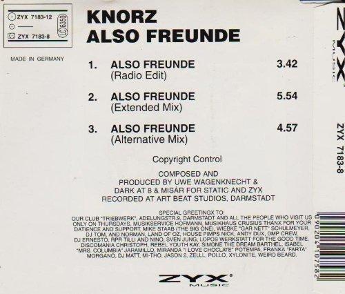 Bild 2: Knorz, Also Freunde (jetzt wird gefeiert; #zyx7183)