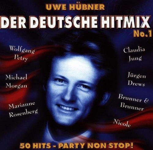 Bild 1: Der Deutsche Hit Mix (1996, Uwe Hübner), 1:Wolfgang Petry, M. Rosenberg, Claudia Jung, Jürgen Drews, Nicole..