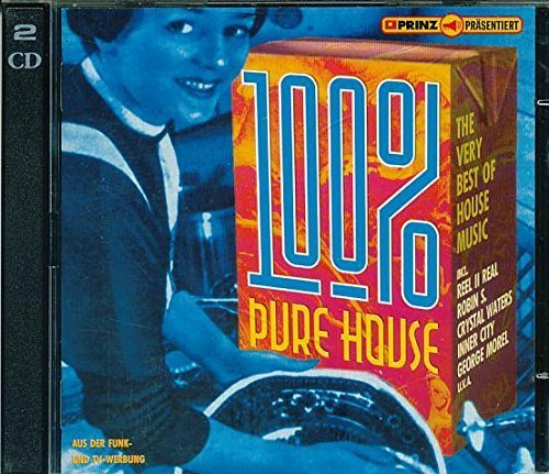 Bild 1: 100% pure House-The very best of House Music (1994), Crystal Waters, Robin S., Lisa Lisa/Cult Jam, Ce Ce Peniston, Lil' Louis, Inner City..