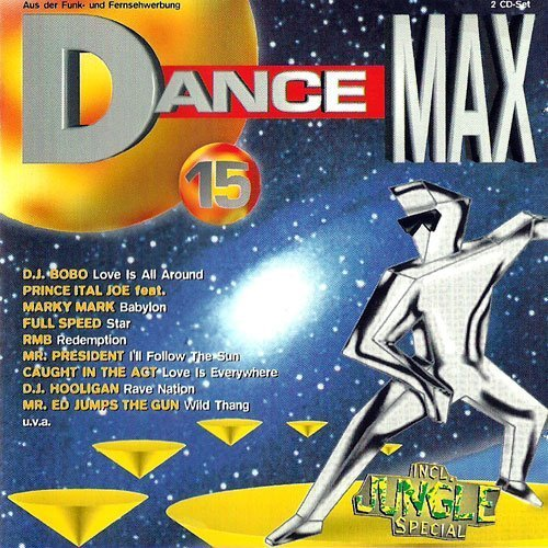 Bild 1: Dance Max 15 (1995), Dj Bobo, Pharao, Fun Factory, RMB, Activate, Enigma..