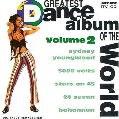 Bild 1: Greatest Dance Album of the World 2 (18 tracks, 1993), Sydney Youngblood, 5000 Volts, Shamen, Samantha Fox, Oliver Cheatham..