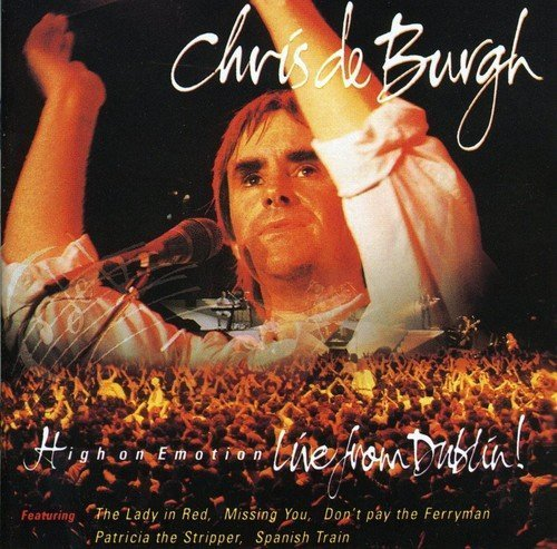 Bild 1: Chris de Burgh, High on emotion-Live from Dublin (1990)