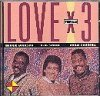 Chuck Jackson, Love x 3 (US, 1993, split compilation with O.C. Smith, Cuba Gooding)