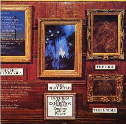 Bild 1: Emerson Lake & Palmer, Pictures at an exhibition (1972)