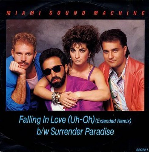 Bild 2: Miami Sound Machine, Falling in love (Ext. Remix, 1986)