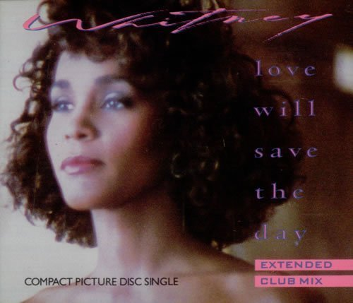 Bild 1: Whitney Houston, Love will save the day (Ext. Club, 1988, Picturedisc)