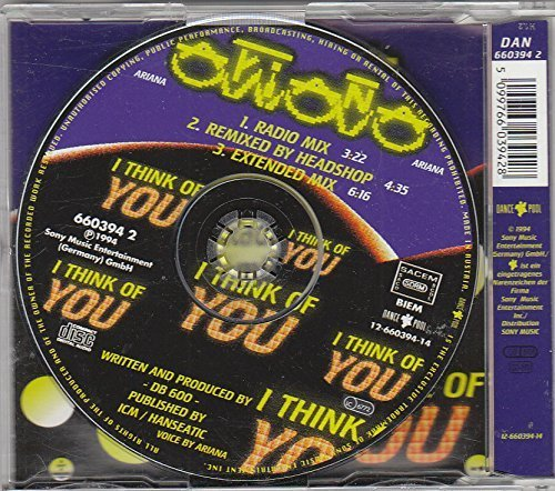 Bild 2: Ariana, I think of you (1994)
